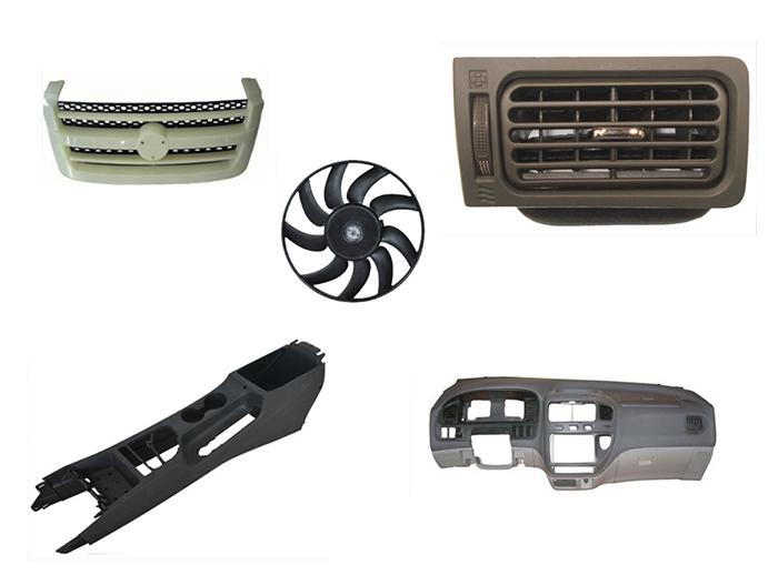 聚丙烯汽车专用复合料应用产品